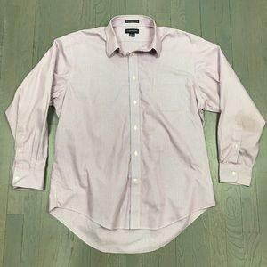 Lands' End No Iron Pinpoint Button Down Shirt